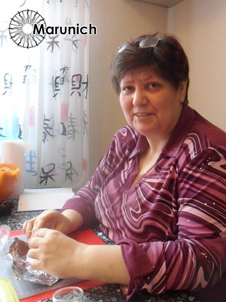 """Фото с МК Елены Марунич по изготовлению украшений из полимерной глины  """"черненое серебро и камень """" ."""