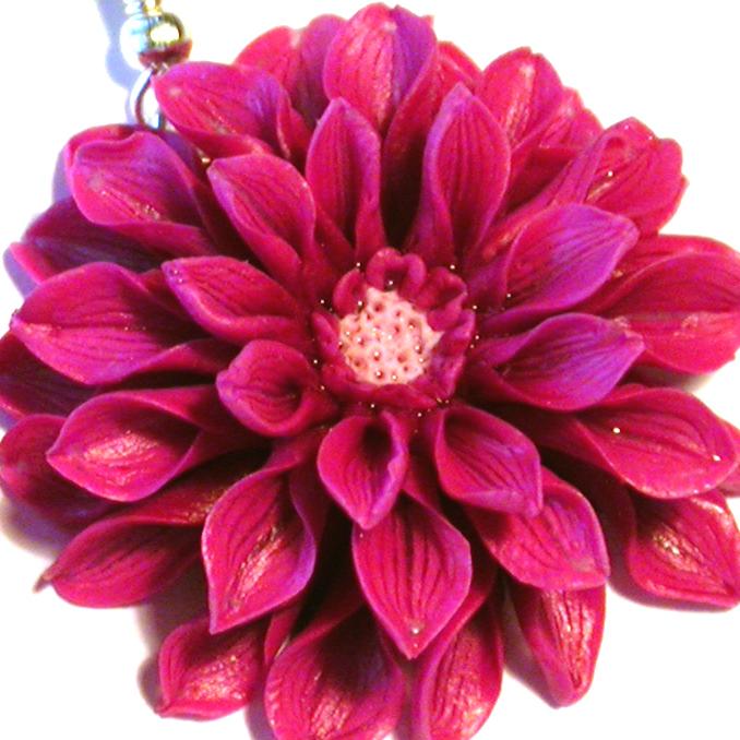 марунич мастер-класс, марунич авторские украшения, украшения из полимерной глины, марунич, цветы из полимерной глины урок, цветы из пластика своими руками, цветы из полимерной глины мастер-класс